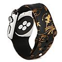 olcso Okos karóra Tartozékok-Nézd Band mert Apple Watch Series 4/3/2/1 Apple Sportszíj Szilikon Csuklópánt