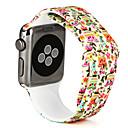 baratos Smartwatch Acessórios-Pulseiras de Relógio para Apple Watch Series 3 / 2 / 1 Apple Pulseira Esportiva Silicone Tira de Pulso
