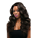cheap Human Hair Wigs-Remy Human Hair Glueless Lace Front / Lace Front Wig Chinese Hair Body Wave Wig With Baby Hair 130% Natural Hairline / African American Wig / 100% Virgin Women's Medium Length Human Hair Lace Wig
