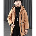 tanie Kurtki i płaszcze dla dziewczynek-Dzieci Dla chłopców Solidne kolory Trenczy