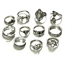 cheap Rings-Women's Statement Ring - Animal Fashion One Size Gold / Silver For Daily Night out&Special occasion / 10pcs