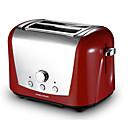 tanie Słoiki i pudełka-Urządzenie do pieczenia chleba Pełna automatyka Stal nierdzewna Tostery 220-240V 760W Urządzenie kuchenne