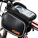cheap Bike Frame Bags-Cell Phone Bag Bike Frame Bag Top Tube 6.2 inch Touch Screen Waterproof Cycling for iPhone X Samsung Galaxy S8 / S7 / Note 7 Samsung Galaxy S8+ / Note 8 Black Silver Red Cycling / Bike