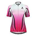 ieftine Jerseru Cycling-Arsuxeo Pentru femei Manșon scurt Jerseu Cycling Bicicletă Jerseu, Uscare rapidă, Design Anatomic, Respirabil / Strech