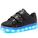 preiswerte Mädchenschuhe-Jungen Schuhe Lackleder / maßgeschneiderte Werkstoffe / Kunstleder Herbst Komfort / Leuchtende LED-Schuhe Sneakers Klettverschluss / LED