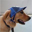 baratos Roupas para Cães-Gato Cachorro Chapéus, Bonés e Bandanas Roupas para Cães Carta e Número Café Azul Outros Material Ocasiões Especiais Para animais de