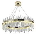 cheap Ceiling Lights-QIHengZhaoMing Crystal Pendant Light Ambient Light Electroplated Crystal Crystal 110-120V / 220-240V LED Light Source Included / LED Integrated