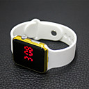 cheap Cell Phones-Women's Digital Watch Chinese LCD Rubber Band Casual / Fashion / Elegant Black / White