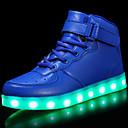 tanie Obuwie chłopięce-Dla chłopców Buty Materiał do wyboru Skóra patentowa Zima Jesień Świecące buty Comfort Tenisówki Haczyk i pętelka LED Szurowane na Casual