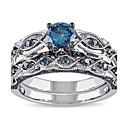 cheap Rings-Women's Synthetic Aquamarine Band Ring - Rhinestone 6 / 7 / 8 Blue For Wedding / Party