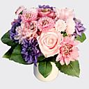 abordables Flores Artificiales-Flores Artificiales 8.0 Rama Estilo moderno Rosas / Margaritas Flor de Mesa