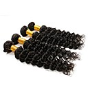 tanie Dopinki ombre-4 zestawy Włosy brazylijskie Deep Wave Włosy naturalne remy Fale w naturalnym kolorze Ludzkie włosy wyplata Ludzkich włosów rozszerzeniach