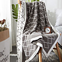 cheap Blankets & Throws-Super Soft, Printed Checkered Polyester Blankets
