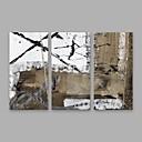 halpa Abstraktit maalaukset-Hang-Painted öljymaalaus Maalattu - Abstrakti Moderni Kangas
