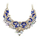 cheap Necklaces-Women's Pendant - Classic, Fashion White, Dark Blue Necklace For Engagement, Ceremony / Gemstone
