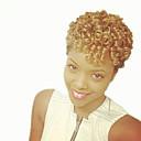 billige Hårfletter-Hår til fletning Bouncy Curl / Kenzie Curl Før-Bue Heklet Fletting Syntetisk hår 20 røtter / pakke, 12 røtter / pakke Hårfletter Kort Ny ankomst / Afrikanske fletter