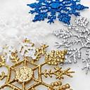 abordables Decoraciones Navideñas-12pcs Navidad ornamentos de Navidad, Decoraciones de vacaciones 19.0*10.5*2.0