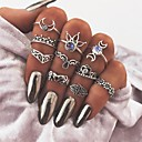 cheap Rings-Women's Knuckle Ring - Vintage Hamsa Hand One Size Silver For Daily / Bar
