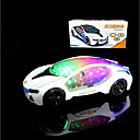 cheap Foam Blocks-LED Lighting Race Car Classic Theme / Holiday / Vehicles Lighting / Motorised / New Design Boys' / Girls' Kid's Gift