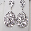 cheap Earrings-Women's Drop Earrings - Rhinestone Statement, Elegant Silver For Ceremony Stage