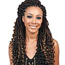 halpa Hiuspunokset-Letitetty Kihara / Sister Locs / Micro Locs Pre-loop Virkkaa punokset Synteettiset hiukset 1kpl / pakkaus punokset Keskikokoinen Tulokas / Liukuvärjätyt hiukset / Afrikkalaiset letit