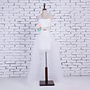 preiswerte Strumpfbänder für die Hochzeit-Hochzeit Party / Abend Unterhosen Baumwolle Nylon Chinlon Kathedralenlänge Glänzend Rock Modisch Hochzeit mit Weiße Schleife