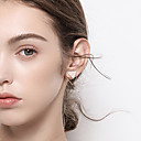cheap Jewelry Sets-Women's Stud Earrings - Silver Plated, Gold Plated Simple, Basic, Fashion Gold For Daily / Date
