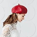 お買い得  パーティー用ヘッドピース-真皮  -  帽子 1 結婚式 パーティー/フォーマル かぶと