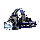hesapli Fenerler-GELE044AB Kafa Lambaları XM-L2 T6 Emitörler 4.0 Işıtma Modu Piller ile Zoomable Profesyonel Kamp / Yürüyüş / Mağaracılık Günlük Kullanım Bisiklete biniciliği Siyah
