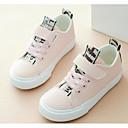 olcso Kislány cipők-Lány Cipő Szintetikus Mikrorost PU Tavasz Kényelmes Tornacipők mert Fehér / Fekete / Világos rózsaszín