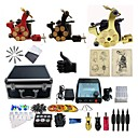 cheap Starter Tattoo Kits-BaseKey Tattoo Machine Professional Tattoo Kit - 3 pcs Tattoo Machines, Professional Alloy 20 W Case Included 3 alloy machine liner & shader