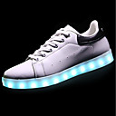 cheap Girls' Shoes-Women's Shoes PU(Polyurethane) Spring / Fall Light Up Shoes Sneakers Round Toe Black / Red