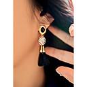 cheap Earrings-Women's Long Stud Earrings Drop Earrings - Imitation Pearl Ladies Tassel Fashion Jewelry Black For Daily Going out