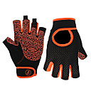 cheap Cycling Gloves-Sports Gloves Bike Gloves / Cycling Gloves Sports Gloves Wearable Breathable Skidproof Fingerless Gloves Nylon Road Cycling Activity &