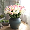cheap Artificial Plants-Artificial Flowers 5 Branch European Tulips Tabletop Flower