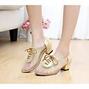 baratos Sapatos de Dança Moderna-Mulheres Sapatos de Dança Moderna / Dança de Salão Renda / Paetês Salto Lantejoulas Salto Baixo Não Personalizável Sapatos de Dança