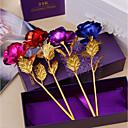 baratos Flor artificiali-Flores artificiais 1 Ramo Modern Rosas Flor de Mesa
