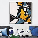 cheap Abstract Paintings-Cartoon Oil Painting Wall Art,Alloy Material With Frame For Home Decoration Frame Art Living Room