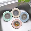 billige Køkkenrengøringsmidler-silikone køkkenvask silke tpr badeværelse bruser afløb dække kolander