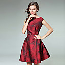 cheap Wedding Flowers-Women's Going out A Line Dress - Floral Print / Spring / Fall