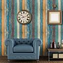 tanie Tapety-Tapeta PVC Tapetowanie - Samoprzylepna Tekstura drewna