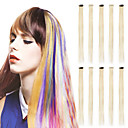preiswerte Synthetische Haarverlängerungen-Neitsi Glatt Synthetische Haare 20 Zoll Haar-Verlängerung Mit Clip Damen Alltag