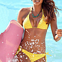 baratos Sandálias Femininas-Mulheres Nadador Biquíni - Sólido De Amarrar