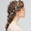 baratos Sapatos de Noiva-Liga Headbands com Laço / Floral 1pç Casamento / Festa / Noite Capacete