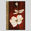 tanie Obrazy: motyw roślinny/botaniczny-Nadruk Rozciągnięte płótno - Kwiatowy / Roślinny Nowoczesny