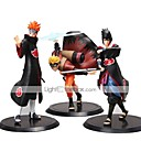 olcso Rajzfilmfigurák-Anime Akciófigurák Ihlette Naruto Madara Uchiha PVC 19-16 cm CM Modell játékok Doll Toy