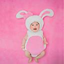 ieftine Set Îmbrăcăminte Bebeluși-Bebelus Fete Imprimeu Fără manșon Bumbac Set Îmbrăcăminte / Draguț