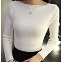 זול עגילים אופנתיים-אחיד - סוודר ארוך שרוול ארוך ליציאה בגדי ריקוד נשים