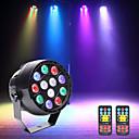 tanie Oświetlenie sceniczne-U'King Oświetlenie LED sceniczne / Żarówki LED Par DMX 512 / Master-Slave / Aktywowana Dźwiękiem 15 W na Impreza / Scena / Ślub Profesjonalny / a
