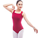 cheap Ballet Dance Wear-Ballet Leotards Women's Performance Cotton Ruffles Sleeveless Natural Leotard / Onesie